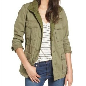 NWOT Madewell Army Olive Green Utility Jacket